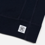 Мужская толстовка Reigning Champ Crew Neck Midweight Twill Terry Navy фото- 3