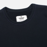 Мужская толстовка Reigning Champ Crew Neck Midweight Twill Terry Navy фото- 1