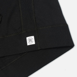 Reigning Champ Pullover Midweight Twill Terry Men`s Hoody Black photo- 3