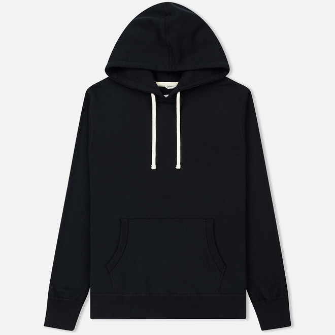 Мужская толстовка Reigning Champ Pullover Midweight Twill Terry Black