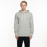 Мужская толстовка Reigning Champ Pullover Midweight Twill Terry Heather Grey фото- 5