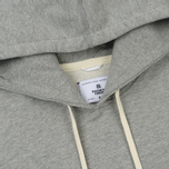 Мужская толстовка Reigning Champ Pullover Midweight Twill Terry Heather Grey фото- 1