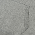 Мужская толстовка Reigning Champ Pullover Midweight Twill Terry Heather Grey фото- 3