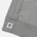 Мужская толстовка Reigning Champ Pullover Midweight Twill Terry Heather Grey фото- 4