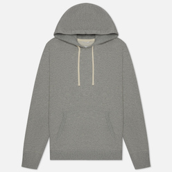 Мужская толстовка Reigning Champ Pullover Midweight Twill Terry Heather Grey