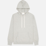 Мужская толстовка Reigning Champ Pullover Midweight Twill Terry Heather Grey фото- 0