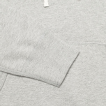 Мужская толстовка Reigning Champ Pullover Midweight Twill Terry Heather Grey фото- 2