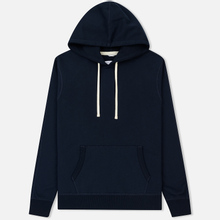 Мужская толстовка Reigning Champ Pullover Midweight Twill Terry Navy фото- 0