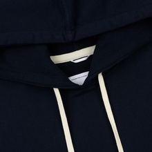 Мужская толстовка Reigning Champ Pullover Midweight Twill Terry Navy фото- 2