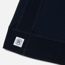 Мужская толстовка Reigning Champ Pullover Midweight Twill Terry Navy фото- 4