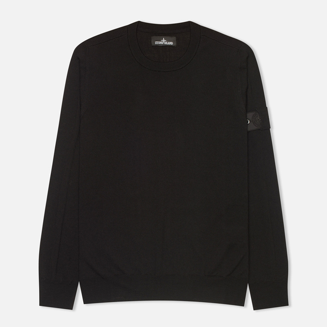 Мужская толстовка Stone Island Shadow Project Jumper Black