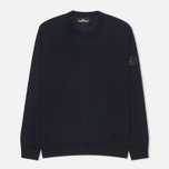 Мужская толстовка Stone Island Shadow Project Jumper Navy Blue фото- 0