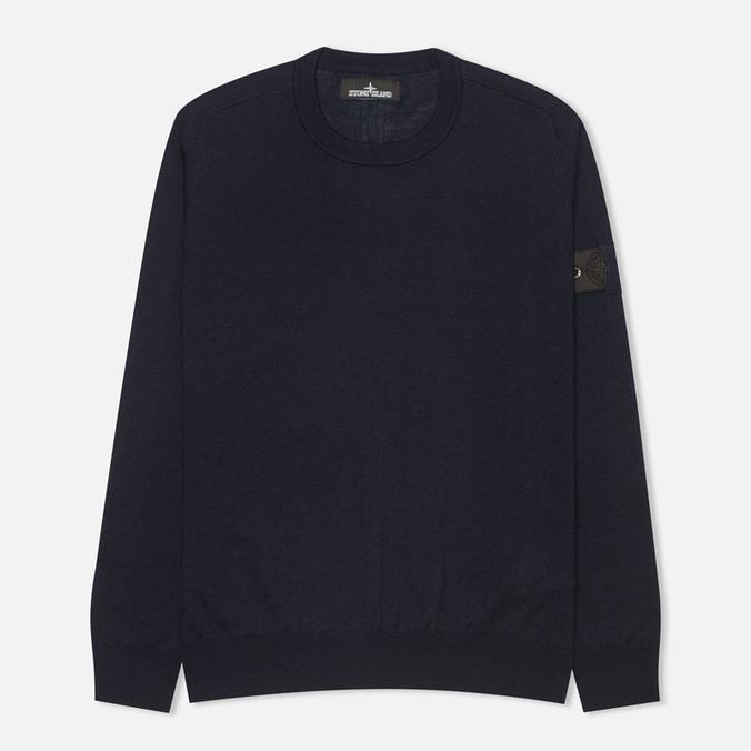 Мужская толстовка Stone Island Shadow Project Jumper Navy Blue