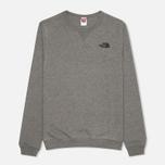 Мужская толстовка The North Face Street Fleece Graphite Grey фото- 0