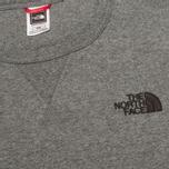 Мужская толстовка The North Face Street Fleece Graphite Grey фото- 2