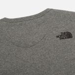 Мужская толстовка The North Face Street Fleece Graphite Grey фото- 4