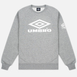 Мужская толстовка Umbro Pro Training Classic Crew Grey Marl фото- 0
