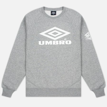 Мужская толстовка Umbro Pro Training Classic Crew Grey Marl