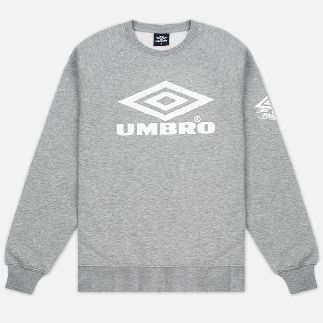 Мужская толстовка Umbro Pro Training Classic Crew Grey Marl