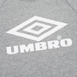 Мужская толстовка Umbro Pro Training Classic Crew Grey Marl фото- 2