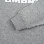 Мужская толстовка Umbro Pro Training Classic Crew Grey Marl фото- 4