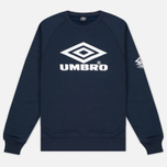 Мужская толстовка Umbro Pro Training Classic Crew Navy фото- 0