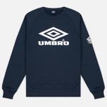 Umbro Pro Training Classic Crew Men's Sweatshirt Navy photo- 0