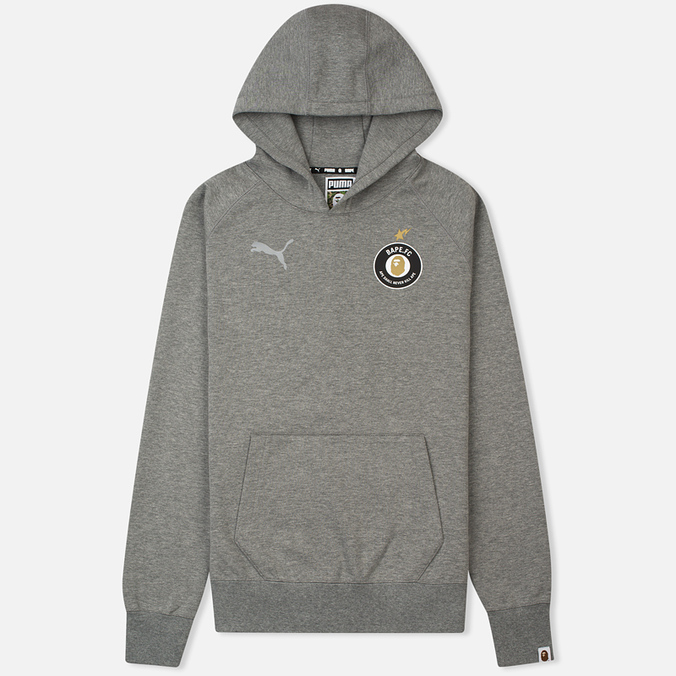 Толстовка Puma x Bape Pullover Medium Grey Heather