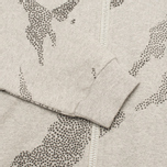 Женская толстовка Maharishi Slouch Grey Marl фото- 2