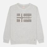 Napapijri Barnsley Women's Sweatshirt Grey Melange photo- 0