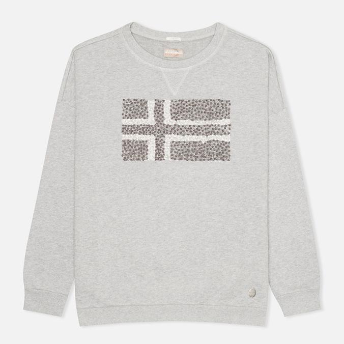 Napapijri Barnsley Women's Sweatshirt Grey Melange