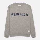 Penfield Brookport Women's Sweatshirt Grey Melange photo- 0