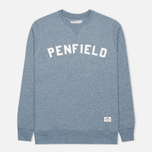 Penfield Brookport Women's Sweatshirt Sea Blue Melange photo- 0