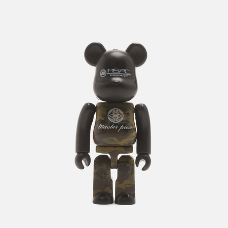 Игрушка Master-piece x Medicom Toy Over Bearbrick Version 100%