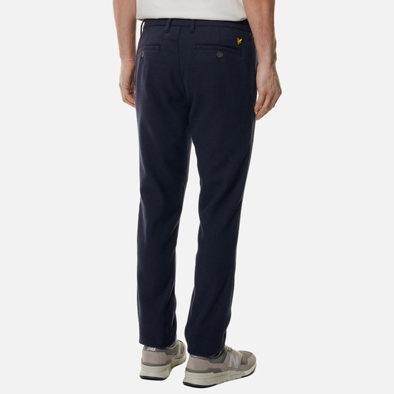 Мужские брюки Lyle & Scott Wool Blend Dark Navy