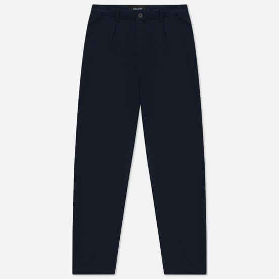 Мужские брюки Lyle & Scott Front Pleat Dark Navy