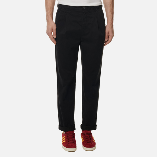 Мужские брюки Lyle & Scott Front Pleat Jet Black