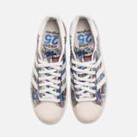 Кроссовки adidas Originals by NIGO Superstar 80s Pioneers Grey/White фото- 4