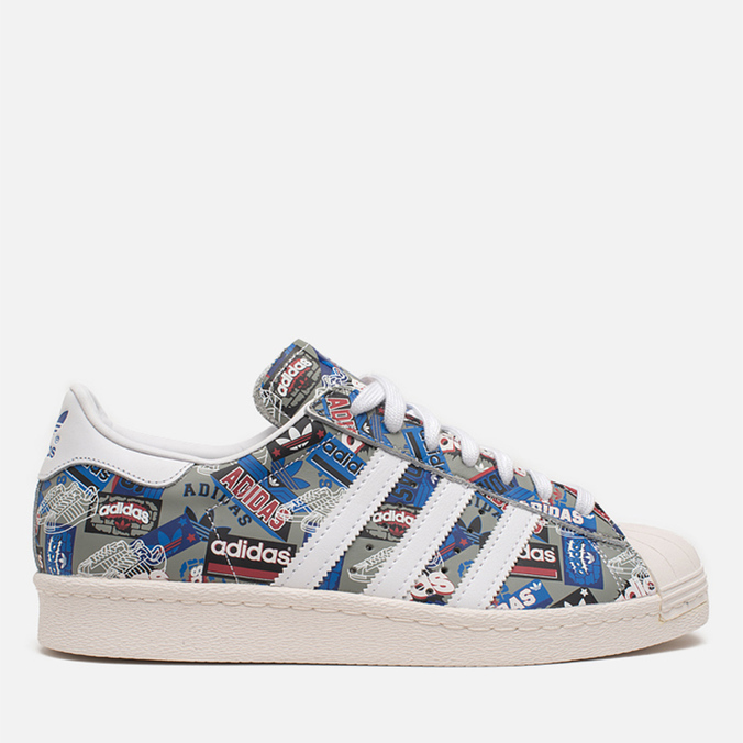 Кроссовки adidas Originals by NIGO Superstar 80s Pioneers Grey/White