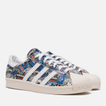 Кроссовки adidas Originals by NIGO Superstar 80s Pioneers Grey/White фото- 1
