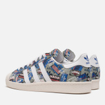Кроссовки adidas Originals by NIGO Superstar 80s Pioneers Grey/White фото- 2