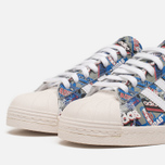 Кроссовки adidas Originals by NIGO Superstar 80s Pioneers Grey/White фото- 5