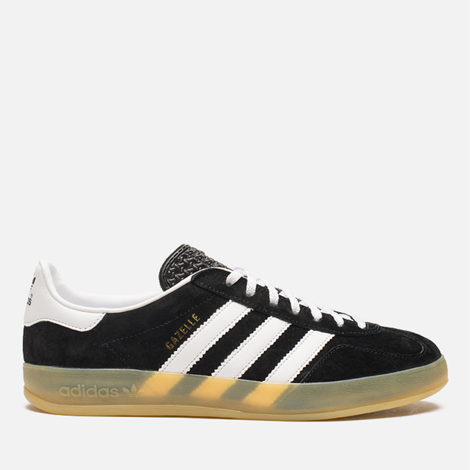 Мужские кроссовки adidas Originals Gazelle Indoor Black/White