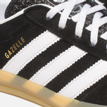Мужские кроссовки adidas Originals Gazelle Indoor Black/White фото- 7