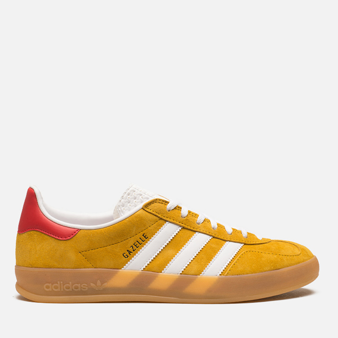 Мужские кроссовки adidas Originals Gazelle Indoor Gold/White