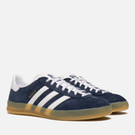Кроссовки adidas Originals Gazelle Indoor Navy/White фото- 1