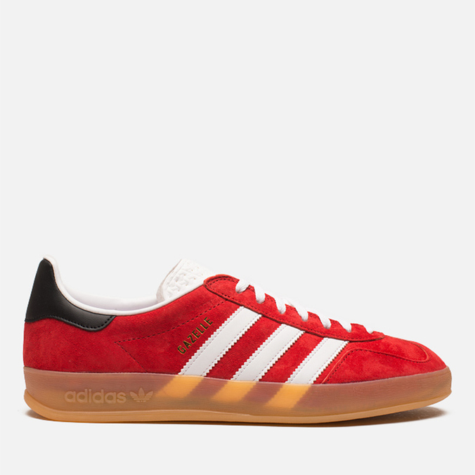 Мужские кроссовки adidas Originals Gazelle Indoor Red/White