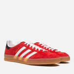Мужские кроссовки adidas Originals Gazelle Indoor Red/White фото- 1