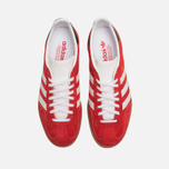 Мужские кроссовки adidas Originals Gazelle Indoor Red/White фото- 4