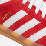 Мужские кроссовки adidas Originals Gazelle Indoor Red/White фото- 7